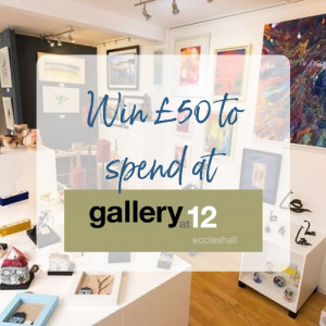 Win £50 to spend at Gallery at 12