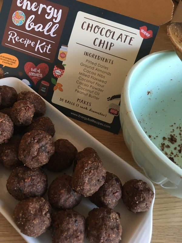 Energy Ball Recipe Kit
