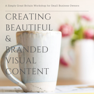 Creating Beautiful & Branded Visual Content